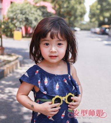 放开我北鼻哈琳发型 萌娃小时候最爱的发型(3)图片