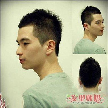 男生后脑头像发型 男生后脑勺发型设计(2)图片