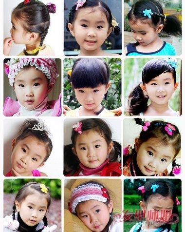 【小女二八舞蹈视频】参加舞蹈小女孩的头发造型大全 儿童舞蹈头发的花样扎法