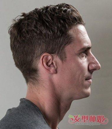 推荐给男生的剃鬓角发型,都有什么样的效果呢?图片
