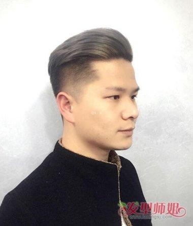 方脸男生剪什么发型好看 剪头有什么发型男生(2)