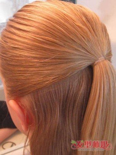 女大童简单的头发 美丽编头发的方法小孩大童图片