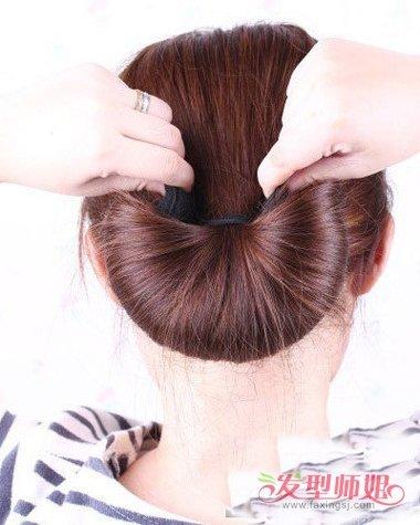 发型diy >> 海绵盘发器短的好用还是长的好用 用盘发器盘头怎么固定(3图片