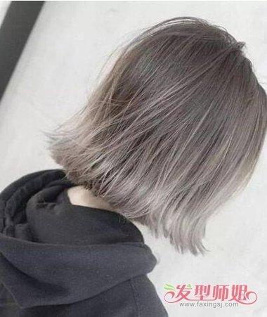 短发>> 各种染短发的各种颜色样板图 短发染色图片(2) 2018-01-15图片