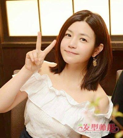 陈妍希夏季短发发型图片三