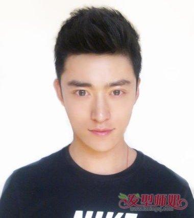 后短前长板寸发型图片 韩国最流行的短发发型