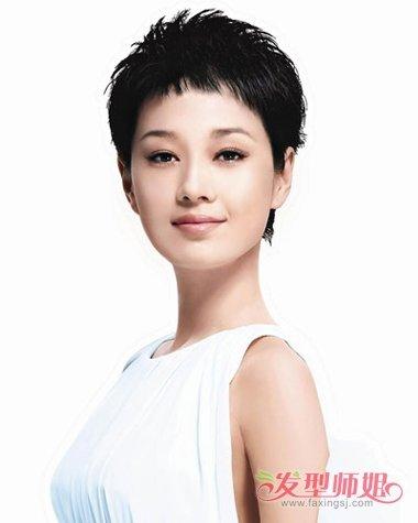 马伊俐短发发型图片2018女 今年流行什么样的短发型(3
