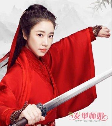 中国古典女侠发型扎法 中国古代发型的梳法