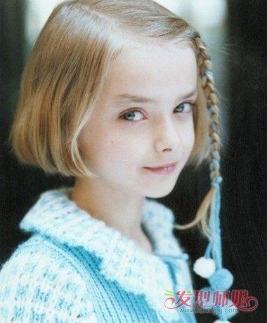 小女孩头饰的编发 各种头饰的扎法(4)_发型师姐图片