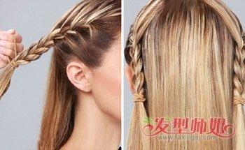 发型diy 盘发 >> 中老年妇女用盘发器如何盘头发 盘发器盘头发简单图片