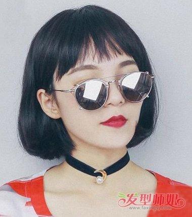 女生刘海是大全的图片的半圆刘海弄好看短a女生发型男生头型图片