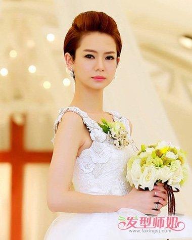 发型设计 新娘发型 >> 最新韩式新娘短头发的发型的 2018年流行短发