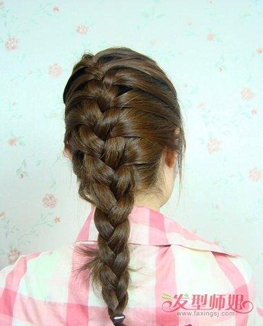 发髻高头发少的女生适合扎什么发型 头发少扎哪种发型图片