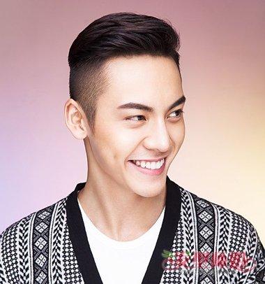 陈伟霆晒黑安检人员都认不出 陈伟霆潮流男生短发发型图片