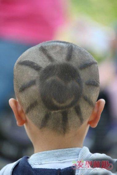 发型设计 儿童发型 >> 儿童个性发型图片男 头发上的个性图案(3)