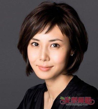 中年女性额头窄发脚下头发多适合什么发型图片