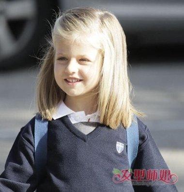 短发女童发型打扮 儿童短发发型扎法(3)