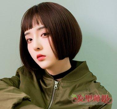 2018流行女生假发短发图片三图片