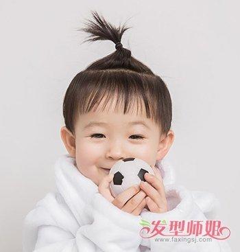 发型设计 儿童发型 >> 小孩短发扎发发型 女童短发发型设计(2)  2018