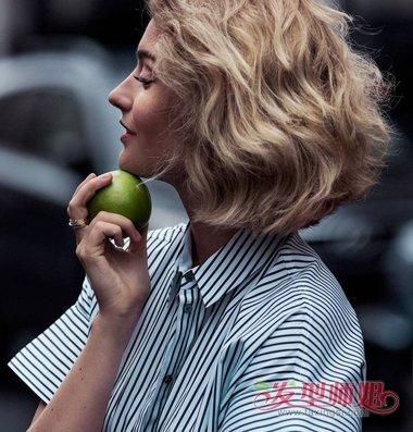 2018最新商务女士短发型 2018年女性短发发型(4)