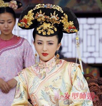 清朝女人发型 清代女子发型(3)图片