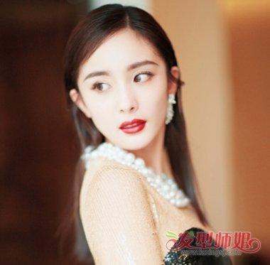 v新宠新宠式主任已成时尚界头型周迅杨颖赵丽李本舰新发型图片