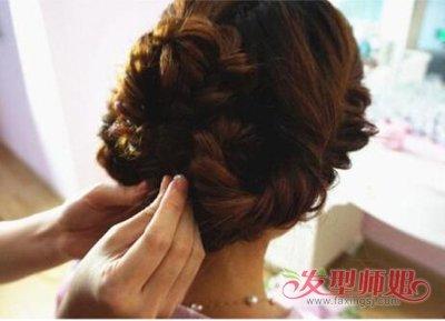 花式编发女生头发造型 编头发花式图片分解(5)图片