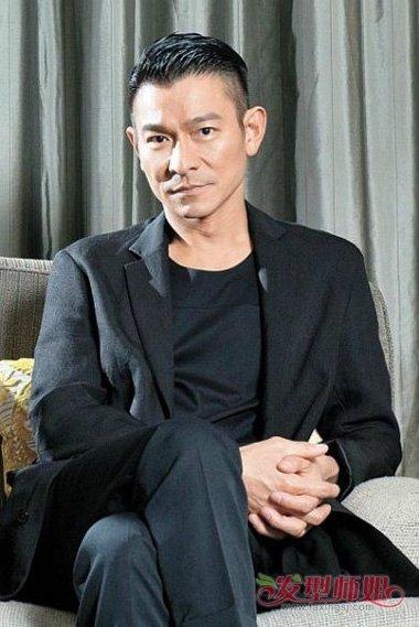 香港男明星四大天王30岁时发型照片 时尚男明星造型图片(4)