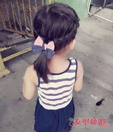 小女孩扎发型图片短发 2018韩版女短发型(4)