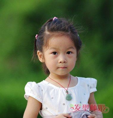 什么脸型适合剪妹妹头发型 小女孩妹妹头怎么扎好看图片