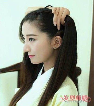 古代短发怎么扎 怎样学会扎古代头发_发型师姐图片