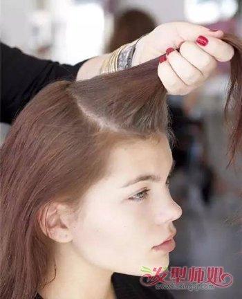 简单自己编发教程细节 最新长发各种编发发型