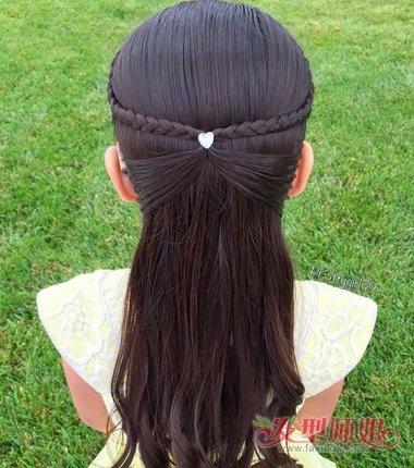 发型设计 儿童发型 >> 如何给女孩编头发 给小孩编头发的细节(2)图片