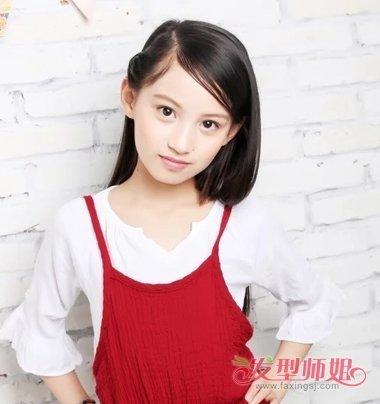 有哪些美丽的女童发型 11岁小孩美丽发型图片