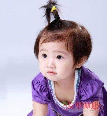 aainforest 分享到  如果两岁女孩的头发很短,而且梳的是 蘑菇头发型图片