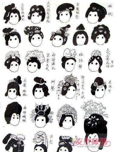 08:19来源:发型师姐编辑:anny 分享到  发髻盘出的古代女子造型,达到