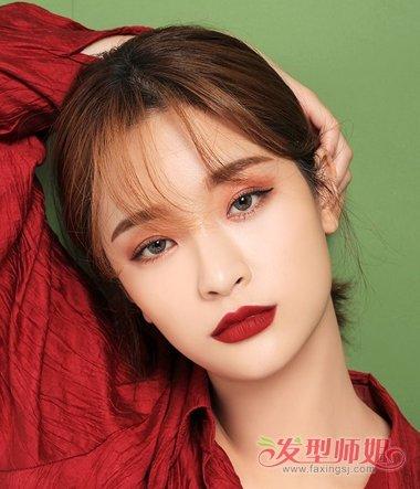 韩国短发的女生怎么扎头发 韩国头发造型这么弄图片