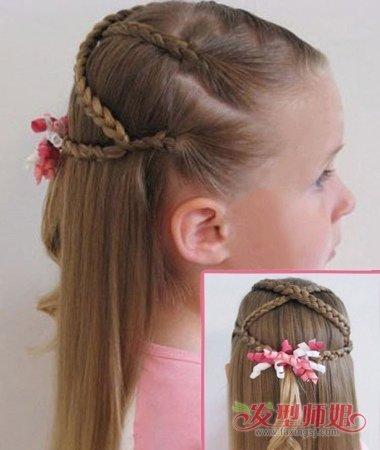 2岁小女生辫子 如何给小女生编辫子_发型师姐
