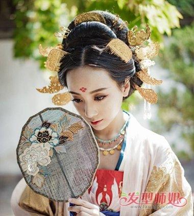 古代女子各种发髻解析 古代女子发髻种类_发型师姐图片