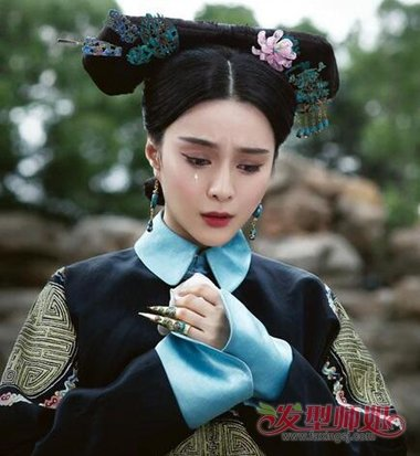 古代女人发型扎法 简单又好看的清朝女子发型图片