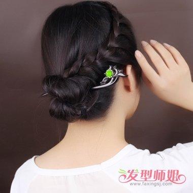 2018最新簪子发型 插簪子的发型(2)图片