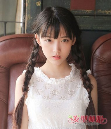 韩式各种发型的扎法 学习扎各种韩国发型