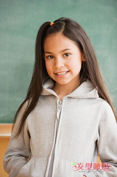 8岁小女生扎头发 小女生怎样扎头发好看(3)