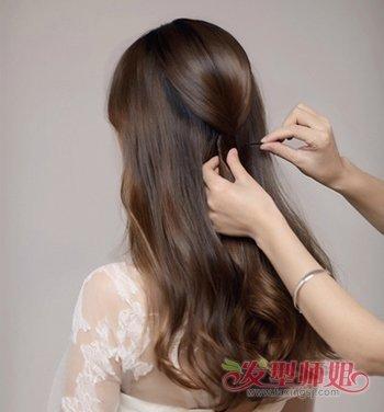新娘韩式发型扎法步骤 2018韩式新娘流行发型图片