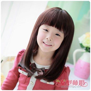 发型设计 儿童发型 >> 小孩有什么好看的发型 小孩的梳头发型(2)