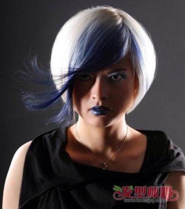 沙宣创意艺术发型图片 创意沙宣发型图片图片