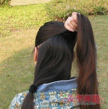 适合簪子的发型 发簪盘发发型步骤图解图片