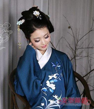 淑女发型 >> 汉朝皇后发型 汉朝的发型怎样扎  汉代的古装造型中,皇后