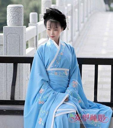 汉朝皇后发型 汉朝的发型怎样扎(4)图片
