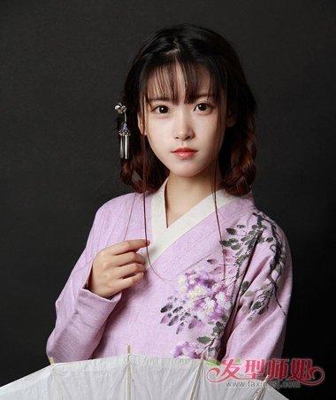 汉朝的女士发型 汉代女子发型教程(2)图片